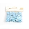 22g Mini Flat Round Colorful 22.3g Beads With Dot Acrylic Customizable English Letters For Diy